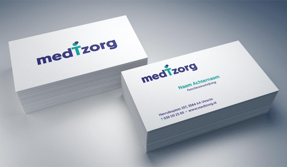 medTzorg (restyle logo en huisstijl)